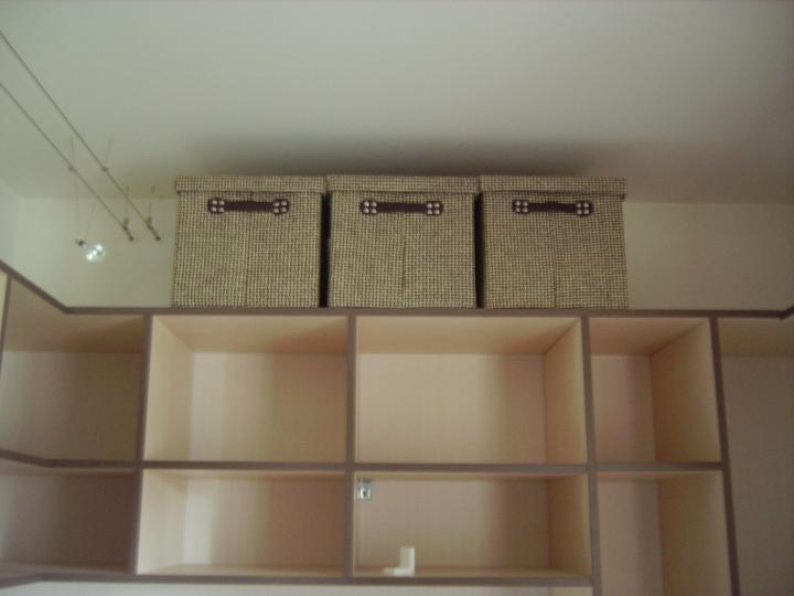 Domček - nové škatuľky do šatníka