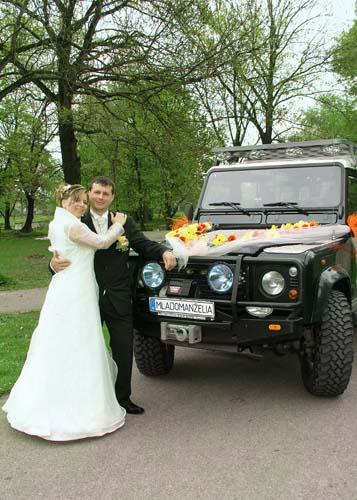 Janka{{_AND_}}Daniel - naše svadobné autíčko a my(ešte slobodní)