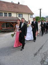 svadobny sprievod...