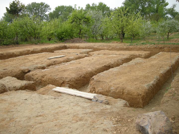 Bungalow 880 - zaklady vykopane