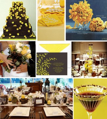Inspirace v hnědé a žluté - Obrázek č. 2