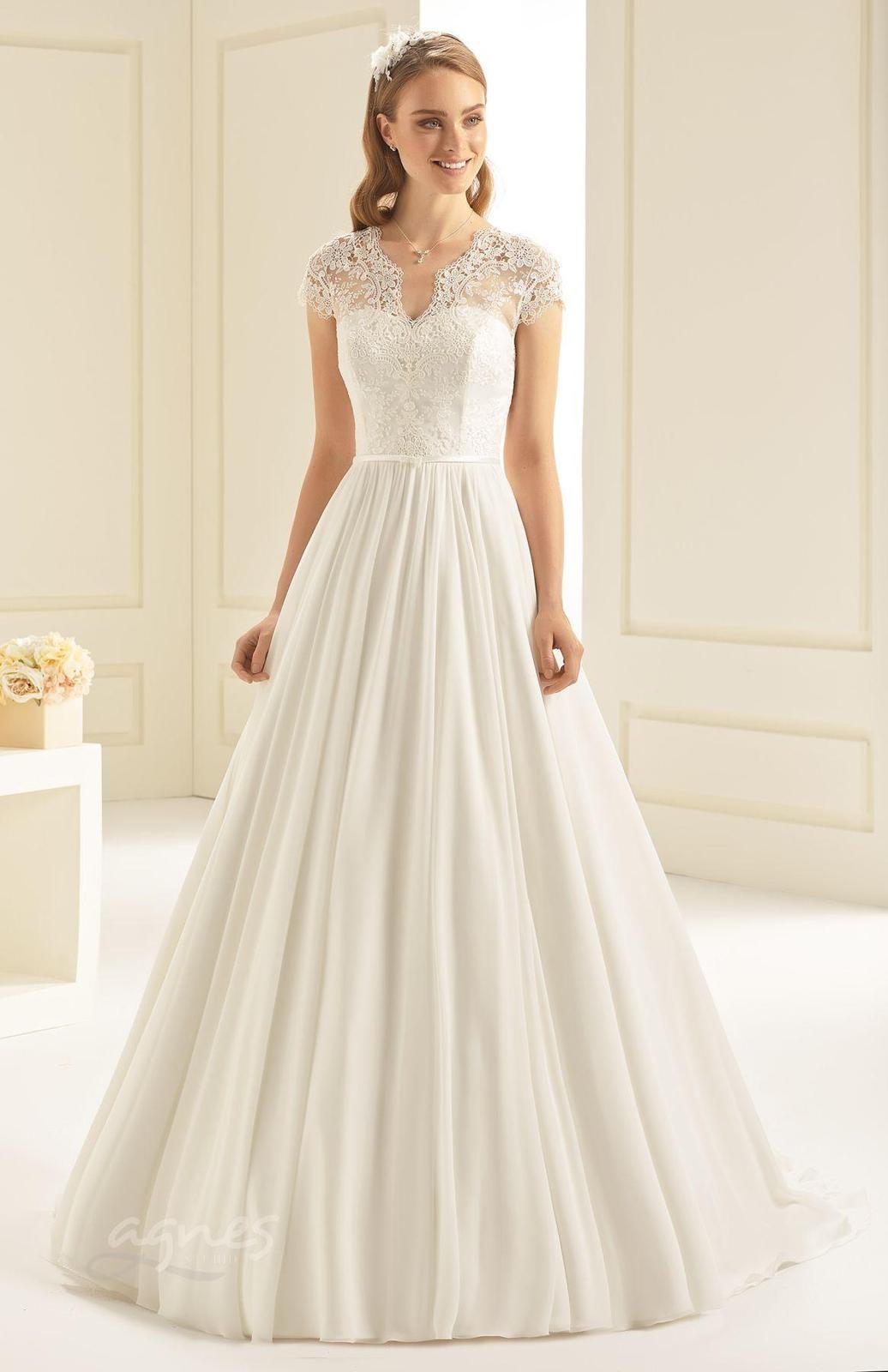 Krásné svatební šaty vel. 40 - Obrázek č. 1