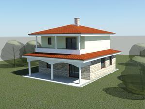 Vizualizácia nášho budúceho domčeka.