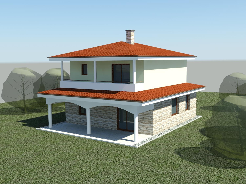 Sen, ktorý sa volá náš domček - Vizualizácia nášho budúceho domčeka.