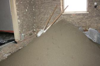 První vrstva betonu (kuchyně)