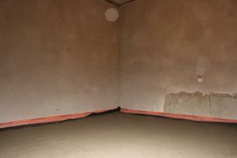 Druhý beton + omítky (ložnice)