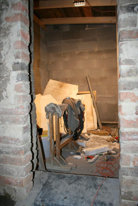 Náš domeček - teď už minulost... - Pohled do koupelny