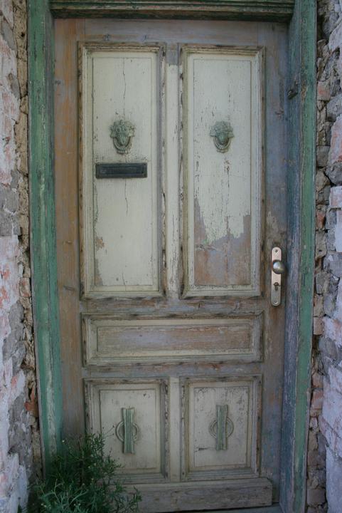 Náš domeček - teď už minulost... - Vchodové dveře