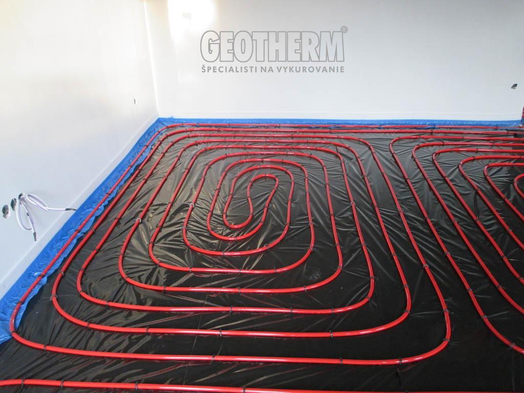 geotherm - Podlahové vykurovanie REHAU