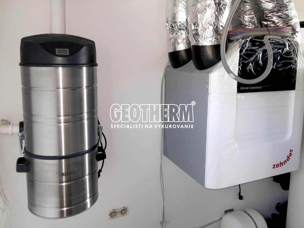 geotherm - Centrálny vysávač a rekuperácia