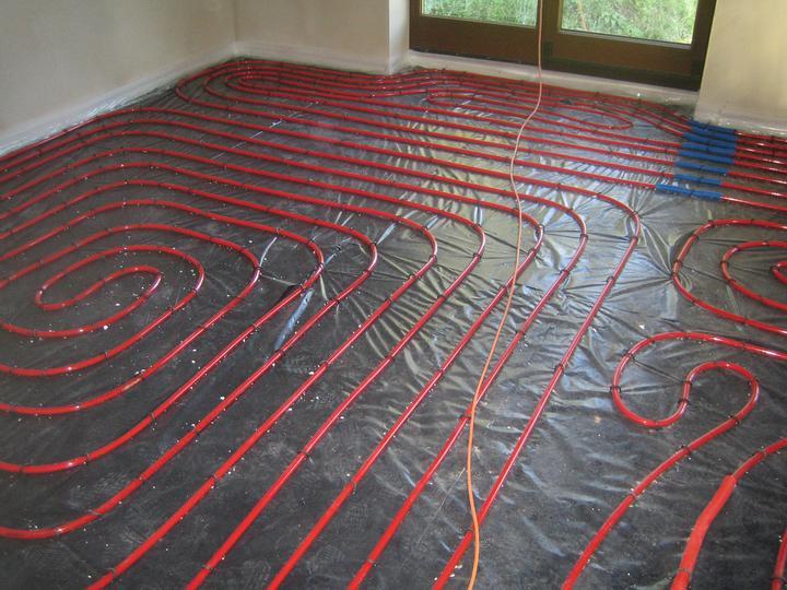 Realizácie - Podlahové vykurovanie