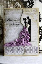 Použila bych na svatební knihu (z alba uživatelky: romy16)