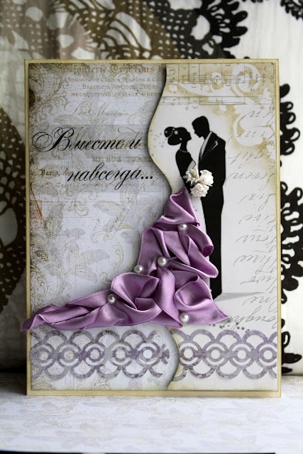 Lila mania - Použila bych na svatební knihu (z alba uživatelky: romy16)