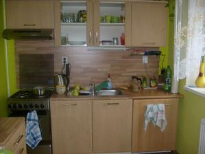 Kuchyňa je veľmi malá, tak zázraky sa tam nedali robiť!
