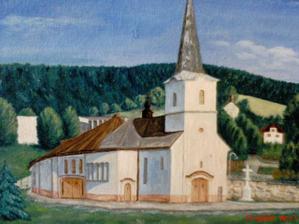 A toto je kostolík, kde si povieme ÁNO :D