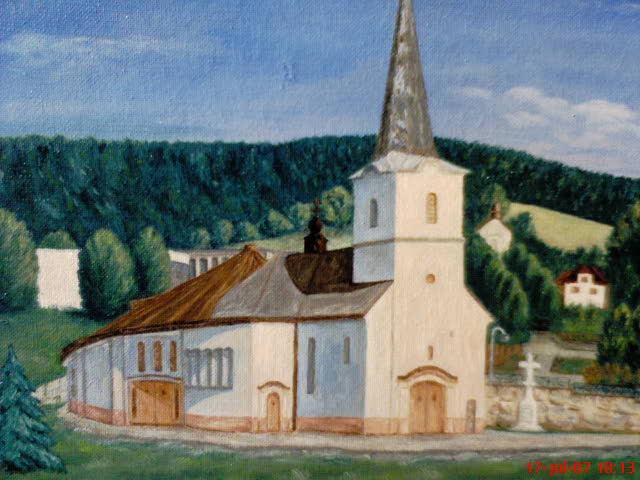 Snívanie - A toto je kostolík, kde si povieme ÁNO :D