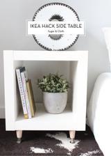 stačí vyměnit kolečka za nohy u odkládacího stolku lack http://www.ikea.com/cz/cs/catalog/products/20211501/