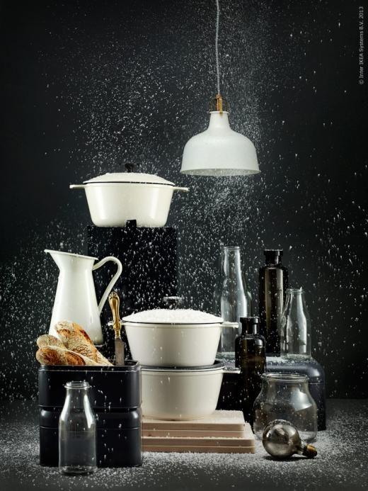 Ikea v akci - ačkoli to není žádná inspirace, tahle fotka mě prostě dostala :-)