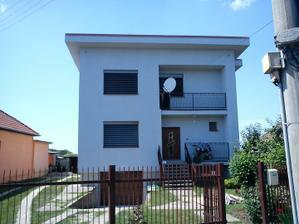 strecha 40 cm nobasil  stena domu 14 cm polystyren..