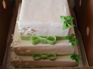 náš krásný svatební dortík