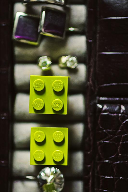 Jana{{_AND_}}Luky :) - Manžetové lego knoflíčky