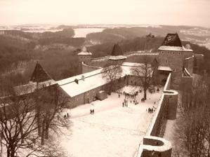 Romantická zákoutí hradu Helfštýn.