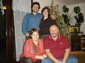 S Pájinými rodiči.