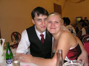 Taak a to jsme MY... Na svatbě od brášky :o)