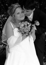 Takhle šťastní jsme byli v náš svatební den...