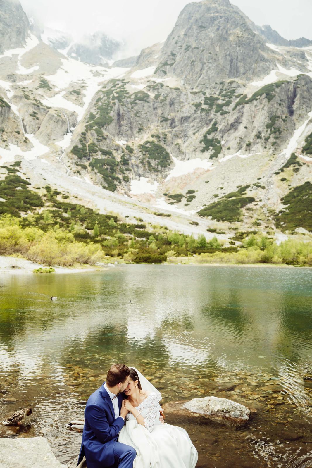 Tomáš & Monika - Zelené Pleso, Tatry ❤️ - Obrázok č. 9
