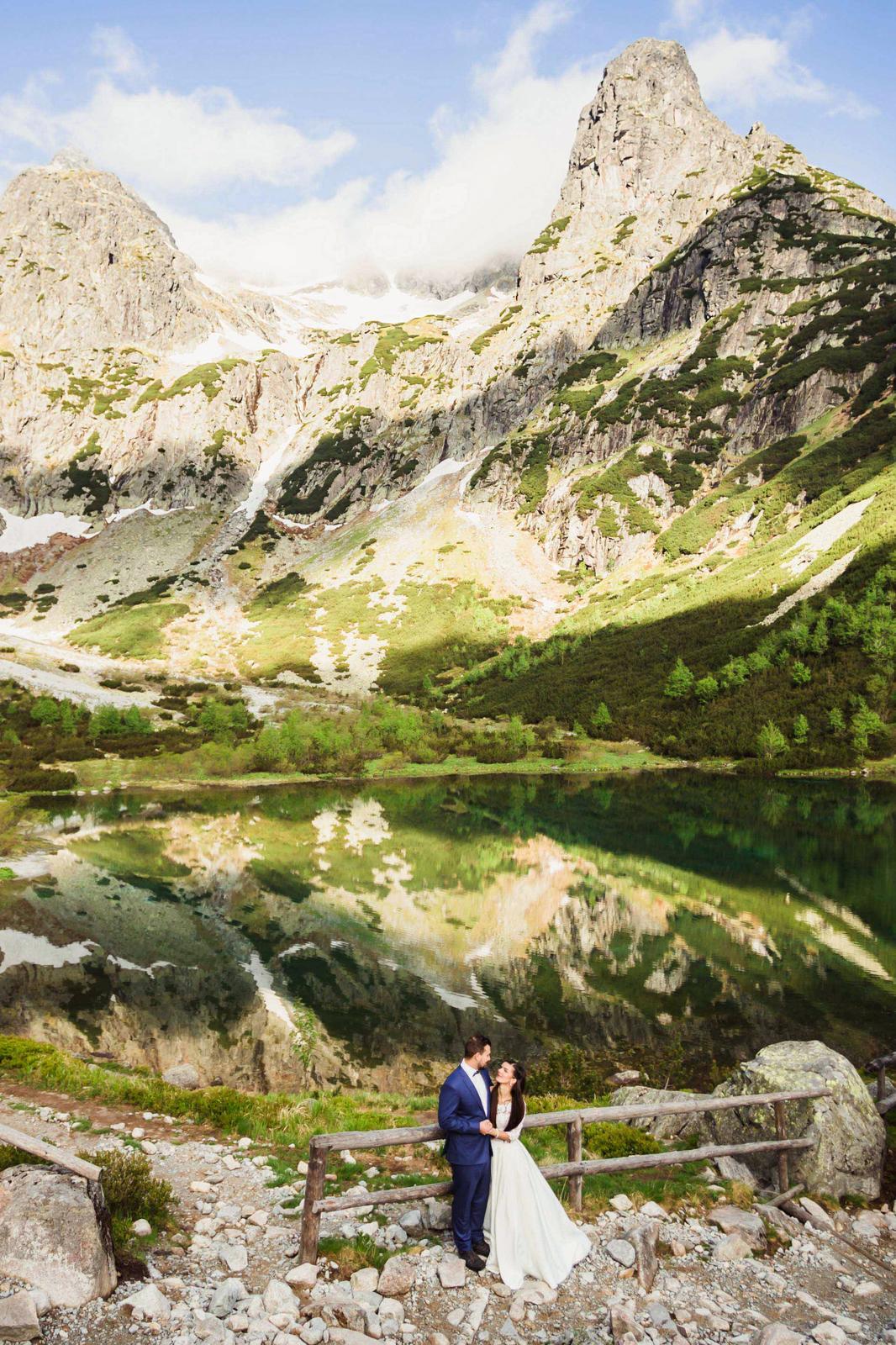 Tomáš & Monika - Zelené Pleso, Tatry ❤️ - Obrázok č. 57