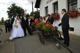 Svatební hostina Selský dvůr Biskoupky
