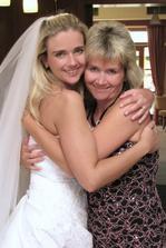 Já a moje sestřička Janinka - taky svědkyně :)