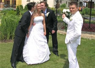 Jako nevěsta jsem byla v kurzu... :)