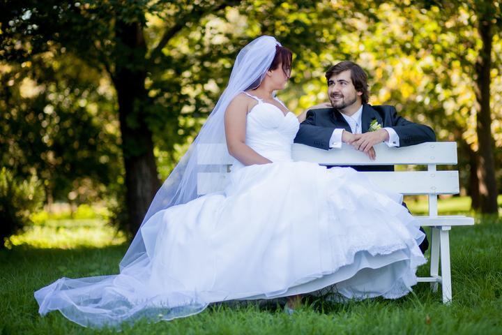 Monika {{_AND_}}Radek - mám to ja krásneho manžela :)