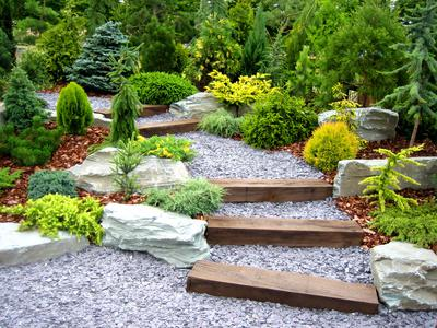 Záhrada-inšpirácie - designer garden