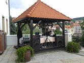 Svatba Český Krumlov - Hotel Růže - moc krásné prostory s výhledem na Vltavu