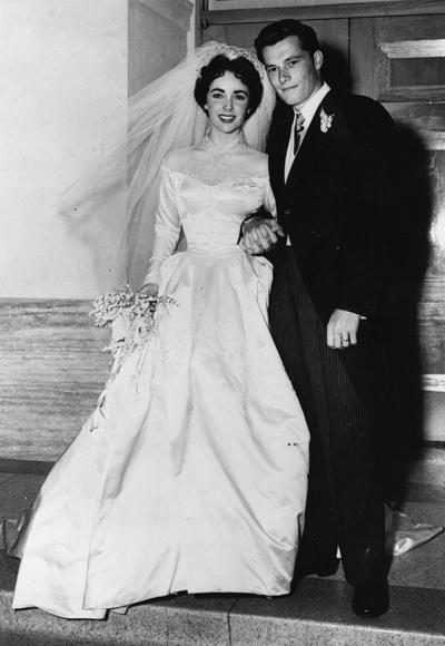 Svatby celebrit - Elizabeth Taylor a Conrad Hilton Jr. (1950)