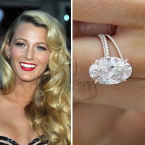 Slavné zásnubní prsteny - Blake Lively