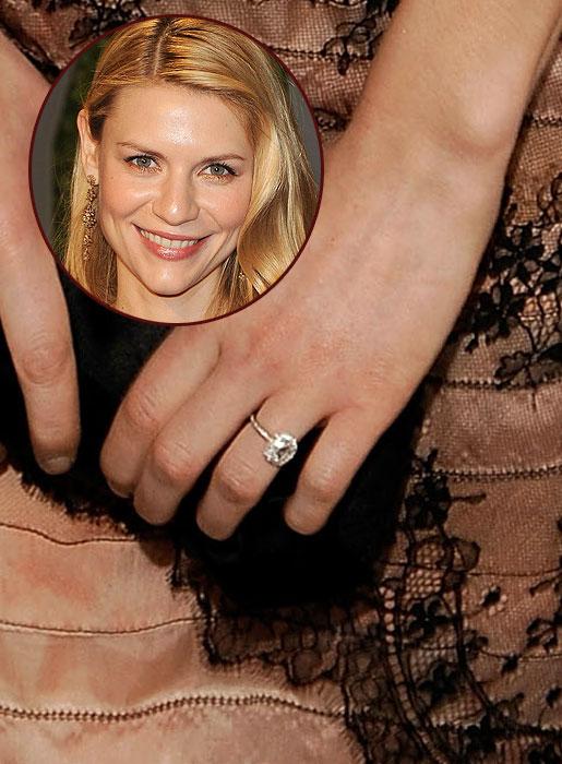 Slavné zásnubní prsteny - Claire Danes