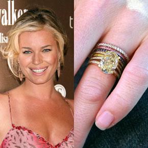 Slavné zásnubní prsteny - Rebecca Romijn
