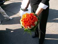 moje svatební kytička dělala miji moje kamarádka