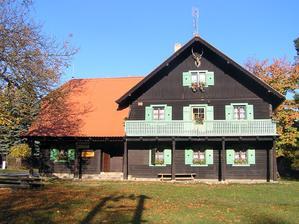 Místo oslavy - lovecká chata Emilovna