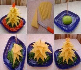 Sýr papáme pořád, tak proč ho jednoduše nepřipravit do stromečku?! Co ty na to? Uděláš to?
