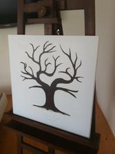 Můj svatební strom :-) Kreslí mi ho má úžasná tchýně :-)