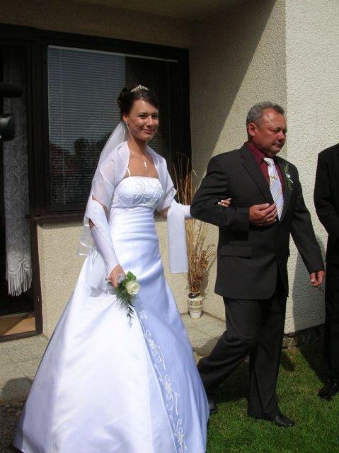 Aminka{{_AND_}}Juraj - ja a tatko, bol veľmi dojatý