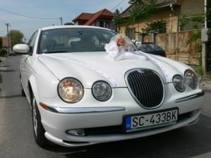 a už je tu môj vysnívaný biely jaguár