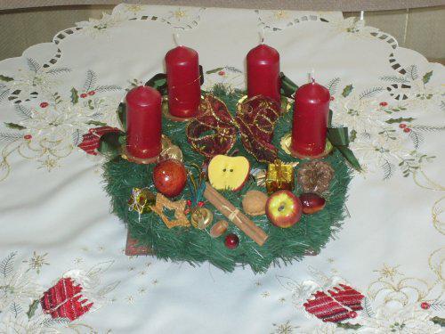 Náš byteček 2+1 - Můj vánoční výtvor