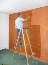Ložnice - malování