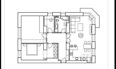 Po rekonštrukcii:) nábytok a interiér sme trochu pomenili